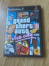 Grand Theft Auto Vice City PS2 Sony PlayStation 2 Game XP1