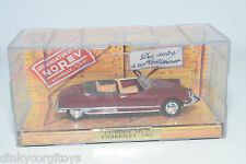. NOREV CITROEN DS 19 CABRIOLET 1963 MAROON MINT BOXED
