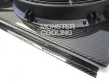"""Bel Air Carbon Fiber Radiator Fan Shroud & 2-12"""" Fan,Hot Look! Fits 289"""