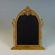Antique Gilded Cathedral Picture Frame