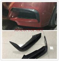 F30 3 Series Front Bumper Carbon Fiber Splitter Canards Lip Special Offer 99.99