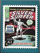 The Original Silver Surfer Marvel Comics USPS 41c Stamp Postcard