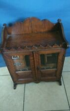 More details for  edwardian smokers cabinet  c/w working lock/key