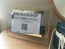 Maid of Honour Photo Picture Frame: with Crystals (Land)