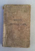 Ancien livre sur les fonds marin de 1886 format poche old french book
