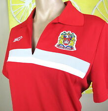WIGAN WARRIORS LADIES POLO SHIRT  Size 10