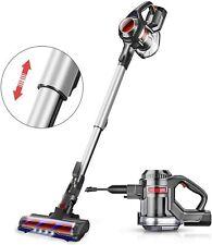 MOOSOO Cordless Vacuum 10Kpa Powerful Suction 4 in 1 Stick Handheld Vacuum Clean