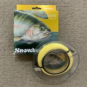 Snowbee Classic Floating Fly Line - Pale Yellow - Various Sizes