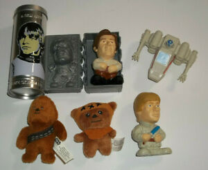 2005 Burger King Star Wars Episode III Revenge of the Sith Lot of (6) Toys