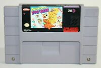 Adventures of Yogi Bear SNES Super Nintendo Authentic & Tested! Great Condition!