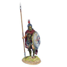 AG062 Greek Hoplite Standing with Cloak and Dory by First Legion