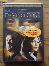 The DaVinci Code (DVD, 2006, 2-Disc Set, Widescreen Special Edition)NEW IN WRAPS
