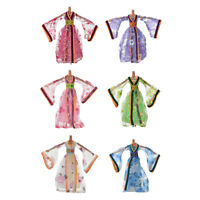 Dress for s Classical Beautiful Chinese Ancient Dress Doll Toy 6Colors