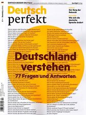 Deutsch perfekt, Heft Februar 2/2018: Deutschland verstehen  ++ wie neu ++