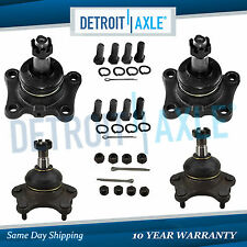 New Both (4) Front Upper & Lower Ball Joints for Toyota T100 4Runner 4WD