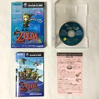 The Legend of Zelda: The Wind Waker w/box Nintendo GameCube GC NTSC-J Japan 415