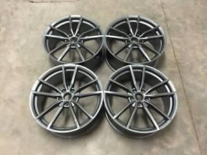 "19"" x4 Golf R Pretoria Style Alloy Wheels Gloss Gun Metal Volkswagen MK5 MK6 MK7"