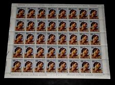 1970, VATICAN #492, U.N. 25th ANNIV. 20L, SHEET/ 40, SCARCE!,  MNH, NICE! LQQK!