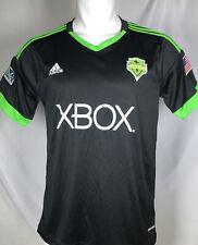 Men's Adidas Seattle Sounders FC PITCH BLACK Brad Evans #3 MLS Jersey Size M