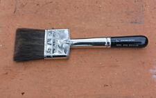 "New listing Vtg Nos 30s-40s Grumbacher Series 3641 Artist Flat Paint Brush 2"" Gray Squirrel"