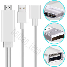 HD 1080P HDMI Cable Phone To TV HDTV Adapter Universal For iPhone Android Type C