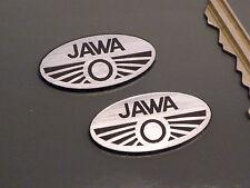 JAWA Oval Style Self Adhesive Speedway Bike BADGES 30mm Pair 250 350 Motorcycle