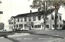 Wisconsin, WI, Bayfield, Hotel Bayfield 1951 Real Photo Postcard