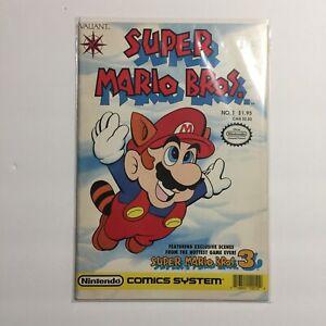 Super Mario Bros #1 Comic 1990 VALIANT  NINTENDO Comics System