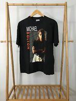 VTG Michael Bolton Time Love & Tenderness 1992 Tour Shirt Single Stitch XL USA