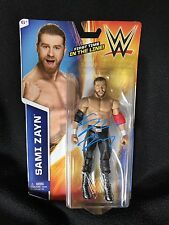 SAMI ZAYN SIGNED WWE FIRST TIME IN THE LINE FIGURE
