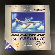 Gemini Jets Limited Edition Republic Boeing 727-200 - 1:400 Diecast Airplane