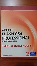 Adobe flash CS4 professional CS4 corso ufficiale adobe