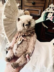 Whendi's Bear artist Wendy Meagher Rare Shabby Panda  Biggy New Design