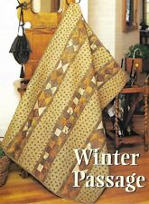 Winter Passage Quilt quilting pattern instructions