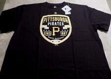 Pittsburgh Pirates Patch Logo T-shirt 3XL Burgh Baseball Established In Logo MLB