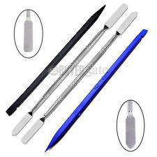 4 Pcs Metal & Plastic Spudger Set Repair Opening Pry Tool for Apple iPad iPhone
