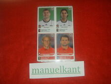 AGGIORNAMENTI ALBUM PANINI SOUTH AFRICA 2010 10 UPDATE SET COMPLETO WC WM MINT
