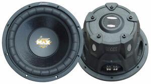 """Lanzar Maxp154d Max Pro 15"""" 2000 Watt Small Enclosure Dual 4 Ohm Subwoofer"""