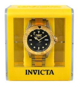 NEW Invicta Yellow Transparent Box IPM319 Lot Of 5