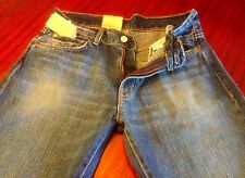 NWT Denim & Supply Ralph Lauren Ripped Vtg Straight Jeans Blue Men's W30-32 L32