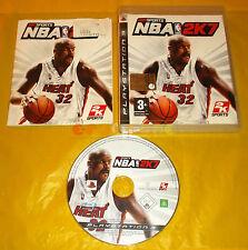NBA 2K7 Ps3 Versione Ufficiale Italiana 1ª Edizione ○○○ COMPLETO - A6