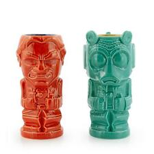 Geeki Tikis Star Wars Han Solo & Greedo Mugs | Star Wars Tiki Style Ceramic Cups