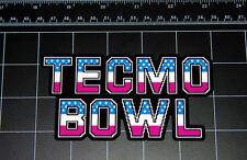 TECMO BOWL 8 Bit sprite pixel decal sticker Nintendo NES SNES Sega football