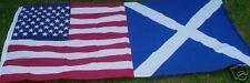 Scots-American USA/Scotland Flag Highland Clan Diaspora Scottish USA Tourism bn