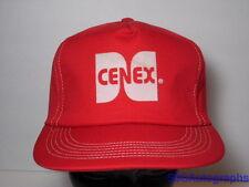 Vintage 1980s CENEX Oil GAS Energy Agriculture Farm Advertising SNAPBACK HAT CAP