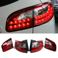 Rear LED Tail light Lamp Audi Q7 Style Daylight Red for Hyundai 06-12 Santa Fe