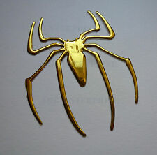 GOLD Chrome Effect Spider Badge Decal Sticker for Renault Clio Megane Sport 225