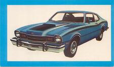 Mercury Comet GT 2 Dr Sedan for 1974 original Postcard