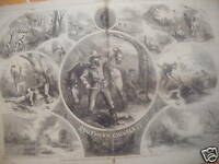 1863 Harpers Weekly Feb 7 Southern Chivalry Civil War