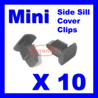 BMW MINI SIDE DOOR SILL COVER TRIM CLIPS FASTENERS R50 R52 R53 R55 R56 R58 R59
